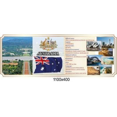 Стенд оформлення кабінету англійської мови Австралія