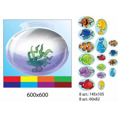 Розвиваюча гра акваріум (з рибками)