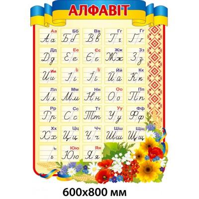 Стенд Алфавит украинского языка