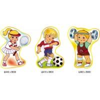 Комплект стендів Спортивні діти