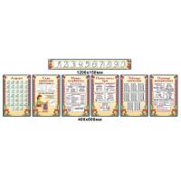 Комплект стендов для начальной школы