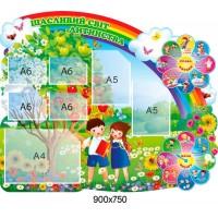Стенд Щасливий світ дитинства