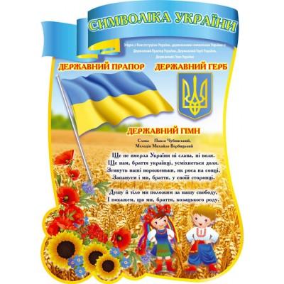 Стенд Государственная символика Украинцы