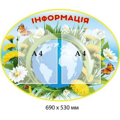 Екологічний плакат інфармація