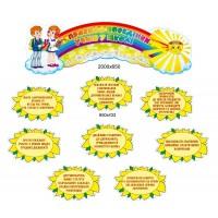 Стенд правила поведения учеников в школе