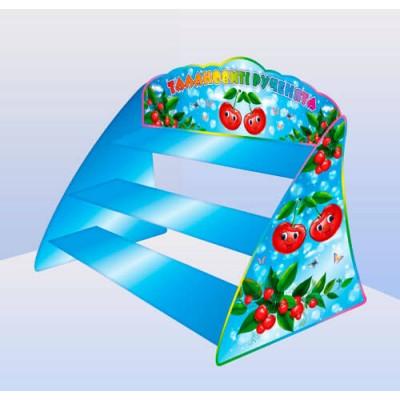Настільна підставка для ліплення Вишеньки (повністю кольорова)