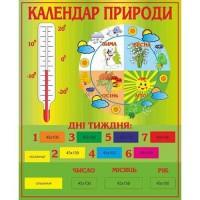 Календарь природы стенд оборудован стрелками