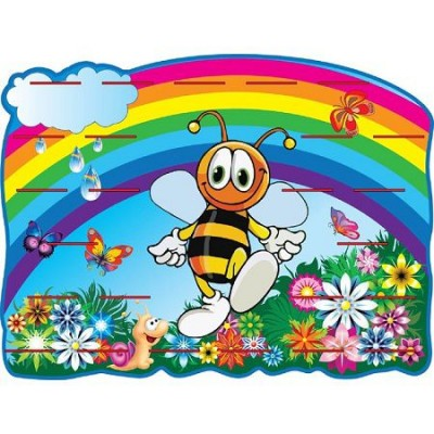 Стенд Подставки под лепку Пчелка