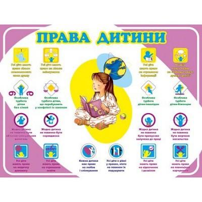 Стенд Права ребенка (фиолетовый)