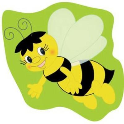 Стенд в форме пчелки