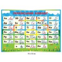 Стенд украинский алфавит