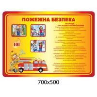 Стенд пожежна безпека