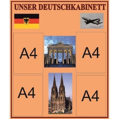 Стенд Наш кабинет немецкого языка