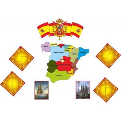 Стенд в кабінет іспанської мови (комплект)
