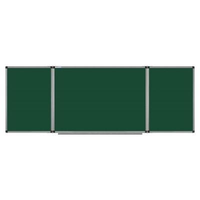 Доска комбинированная мел/маркер 100х300 см