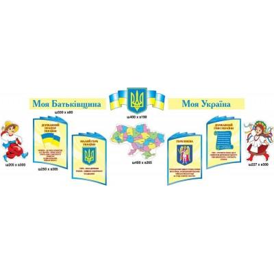 Стенд Государственная символика (комплект символов)
