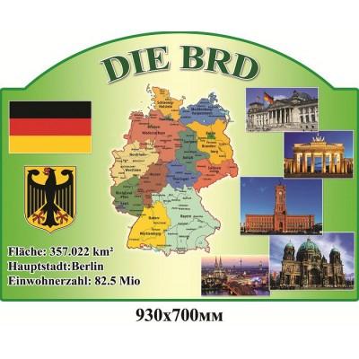 Стенд для кабинета немецкого языка Германия