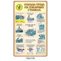 Стенд Охрана труда на токарных станках