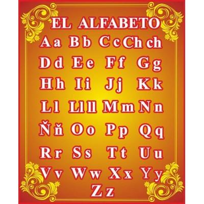 Стенд Кабінет іспанської мови Алфавіт