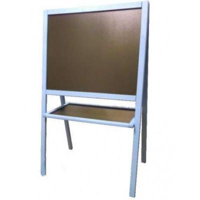 Мольберт двухсторонний (синяя рамка)