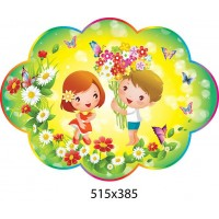Стенд-визитка группы Детишки 515х385