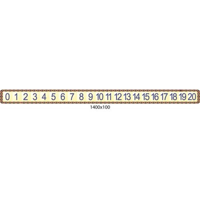 Стенд Числовой ряд (светлый)