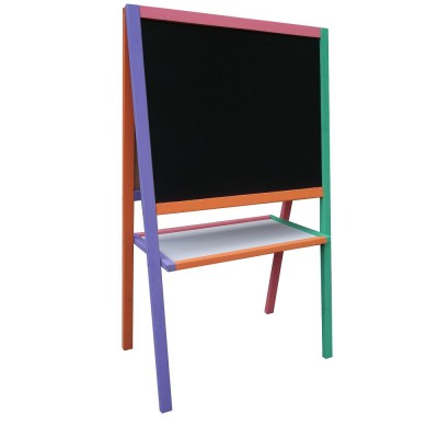 Мольберт двухсторонний (разноцветная рамка)