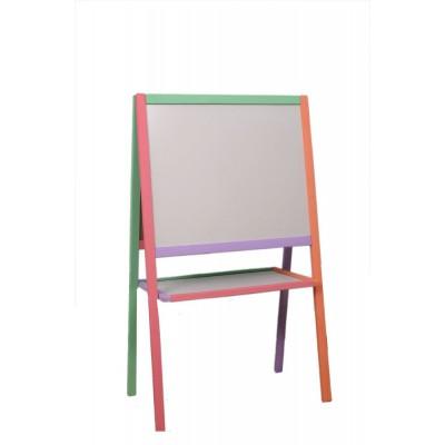 Мольберт двухсторонний (цветная рамка)